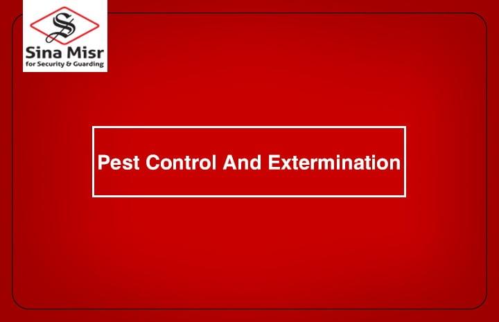 شركة امن سينا مصر ,Pest control and extermination